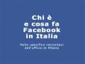 Chi è e cosa fa Facebook Italia