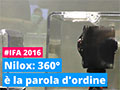 Parola d'ordine 360° per Nilox a IFA 2016