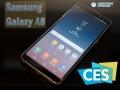 Samsung Galaxy A8: preview al CES 2018