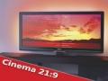 Philips: nuovo televisore Cinema 21:9