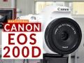 Canon EOS 200D: reflex piccola e agguerrita