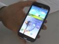 Galaxy S III, primo contatto e novità software