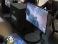 Primo monitor curvo Quantum Dot mostrato da Samsung al Games Week