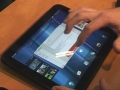 HP TouchPad con WebOS 3.0 all'opera