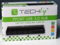 Hub USB 3.0 SuperSpeed da 7 porte da TECHly