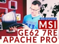MSI GE62 7RE Apache Pro: il notebook gaming con GeForce GTX 1050Ti
