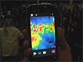 Dal vivo il telefono Caterpillar con fotocamera termica integrata