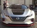 Nissan Leaf Nismo RC al Salone dell'Auto di Torino