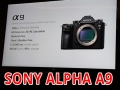 Sony Alpha A9: la full frame professionale ora è mirrorless