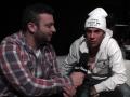 Davide intervista Emis Killa al party di lancio di Xbox One