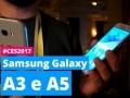 Samsung Galaxy A3 e A5 dal vivo da Las Vegas