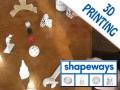Shapeways: creare oggetti reali in tre dimensioni