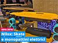 Mobilità elettrica per Nilox a IFA, anche con lo skateboard